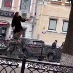 В Твери совершено нападение на памятник Кругу