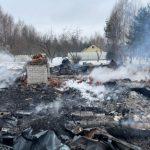 На пожарах гибнут люди