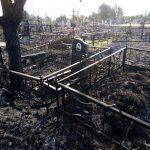 В Ржеве горело кладбище, а В Торжке горели дачи