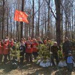 В Конаковском районе волонтёры при поддержке КПРФ восстановили Сад Памяти
