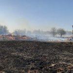 В Лесном районе Тверской области выгорела целая деревня