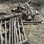 «Мусора больше, чем контейнеров, а деревья упадут в любую минуту!»: жители деревни Николо-Малица Калининского района собрались на субботник