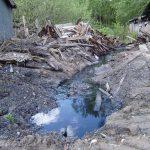 В Западной Двине канализация течёт в реку