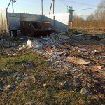 Жители деревни в Конаковском районе не могут пробраться к контейнерной площадке