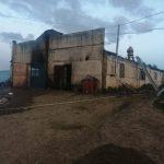 В пожаре на ферме под Зубцовом погибло более полусотни коров и телят