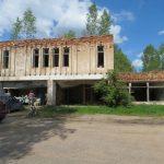 Разрушенный музей, Дом культуры без крыши и другие тёмные пятна на фоне Белого