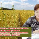«Не посеяли лен – потеряли миллион». Лидер тверских коммунистов Людмила Воробьева – о перспективах льноводства в нашем регионе