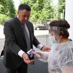 Игорь Руденя пригрозил ужесточением мер к нарушителям масочного режима