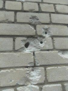 В Калининском районе неизвестные развлекаются стрельбой из боевого оружия?