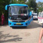 Синий автобус раздавил пенсионерку в Ржеве. Фото 18+