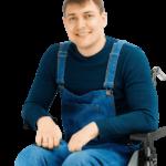 «Единая Россия» ополчилась против кандидата от КПРФ, инвалида-колясочника Андрея Увикова