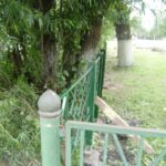 Горсад в Западной Двине обносят кривым забором