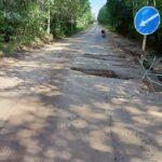 В Удомельском округе разрушаются бетонный мост и дорога, связывающие несколько деревень